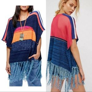 Free People • NWT Sunset knit Top